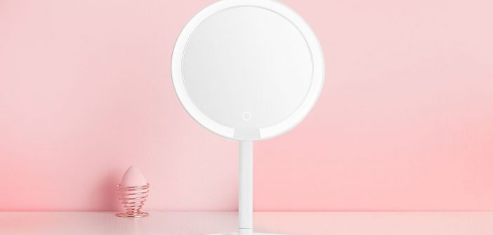Nuevo Xiaomi Mijia LED Cosmetic Mirror, características, especificaciones y precio. Noticias Xiaomi Adictos