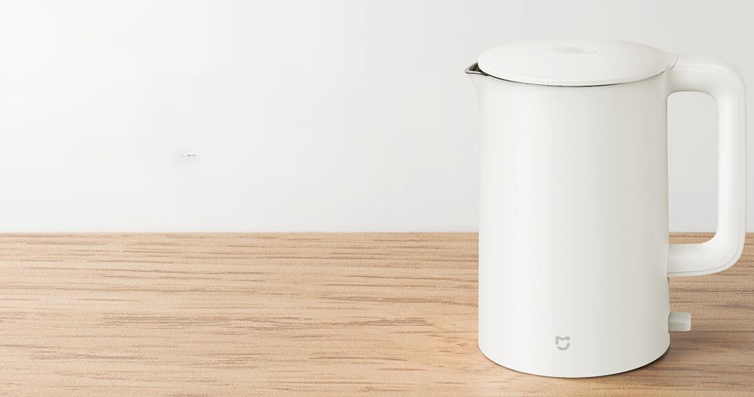 Nuevo Xiaomi Mijia Electric Water Kettle 1A. Noticias Xiaomi Adictos