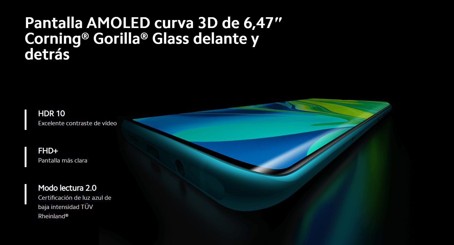 Xiaomi lanza a la venta el Mi Note 10 Pro en España. Noticias Xiaomi Adictos