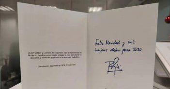 El CEO de Xiaomi recibe una postal navideña de la Policía Nacional de España. Noticias Xiaomi Adictos