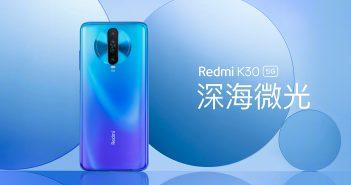 Nuevo Redmi K30 5G, características, especificaciones y precio. Noticias Xiaomi Adictos