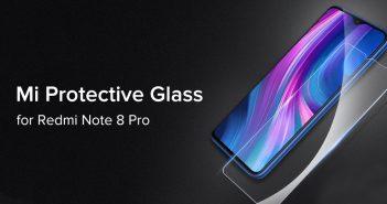 Nuevo Xiaomi Mi Protective Glass para el Redmi Note 8 Pro. Noticias Xiaomi Adictos