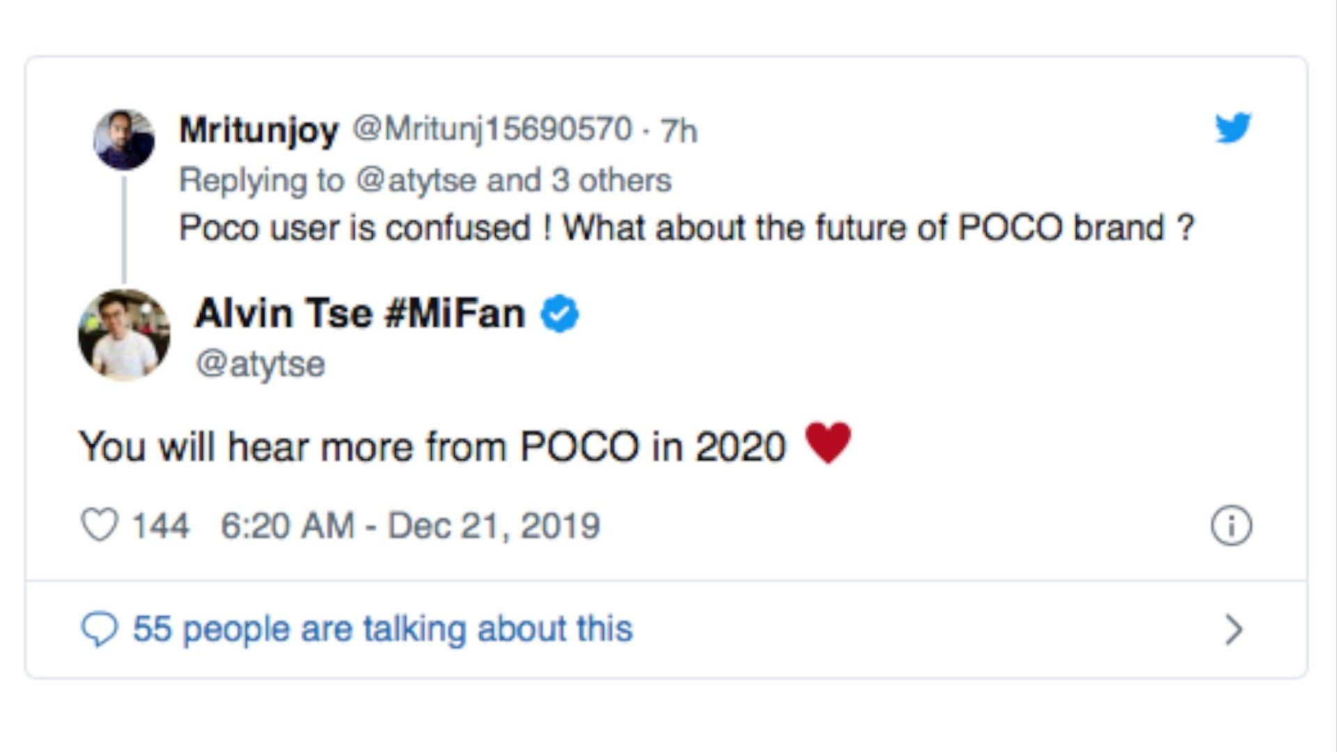 El jefe del POCO Team confirma el nuevo POCOPHONE F2. Noticias Xiaomi Adictos