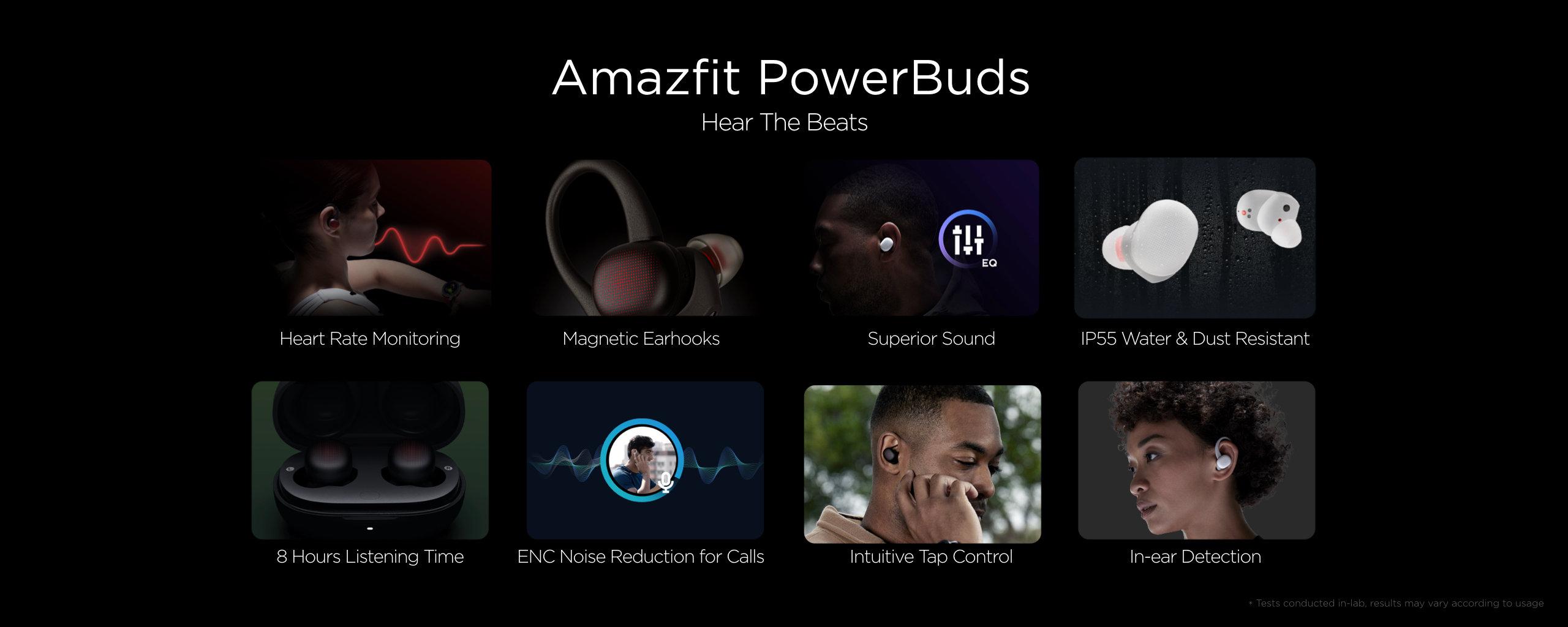 Nuevos Amazfit PowerBuds, características, especificaciones y precio. Noticias Xiaomi Adictos