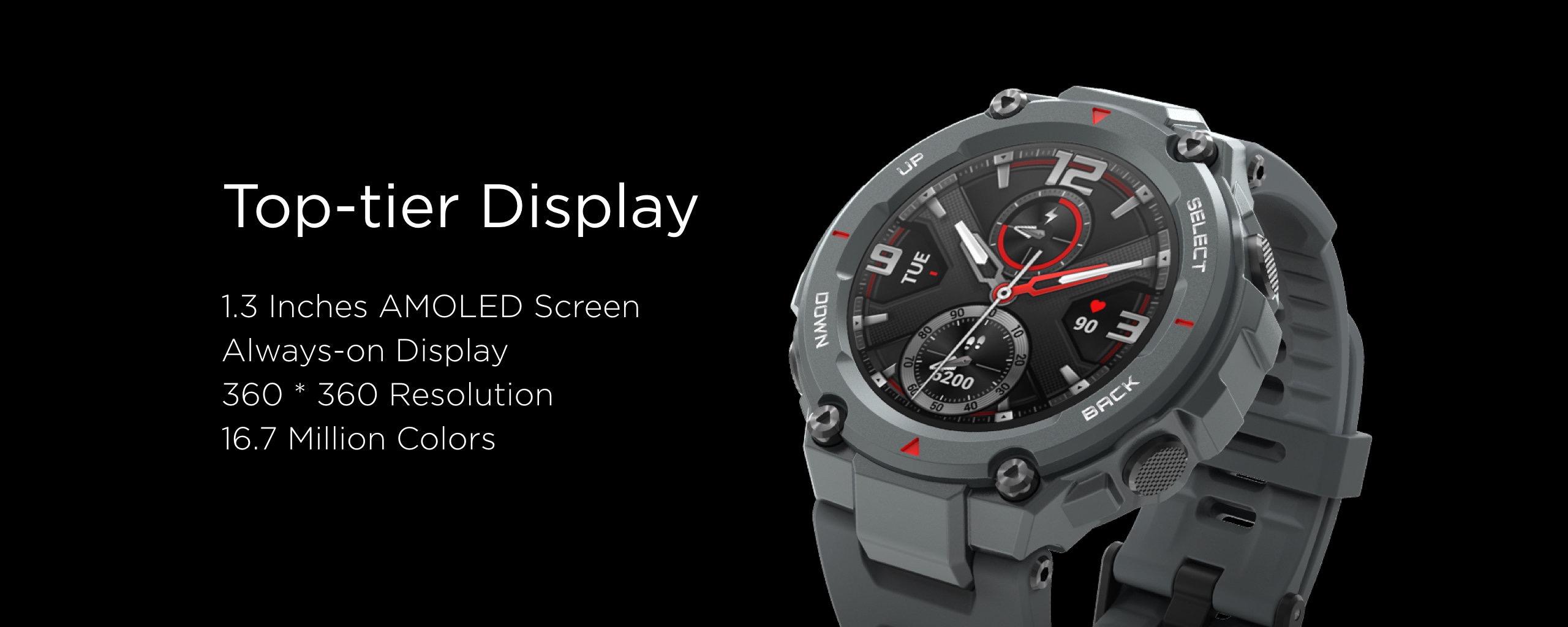Nuevo Amazfit T-Rex, características, especificaciones, precio y fecha de lanzamiento. Noticias Xiaomi Adictos