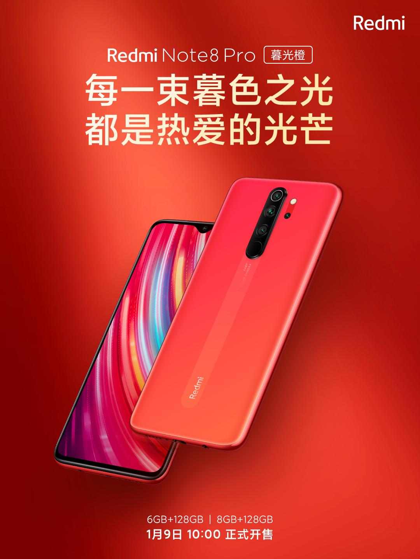 El Redmi Note 8 Pro contará con una nueva variante de color en rojo. Noticias Xiaomi Adictos