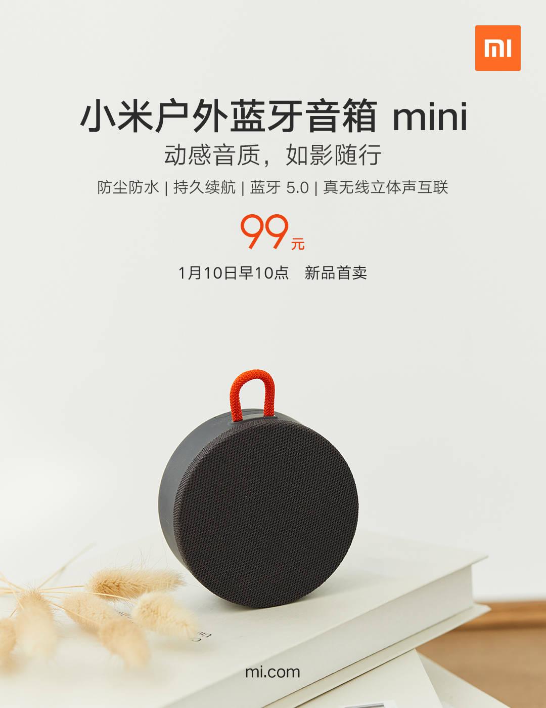 Nuevo altavoz de exteriores Xiaomi Outdoor Bluetooth Speaker Mini. Noticias Xiaomi Adictos