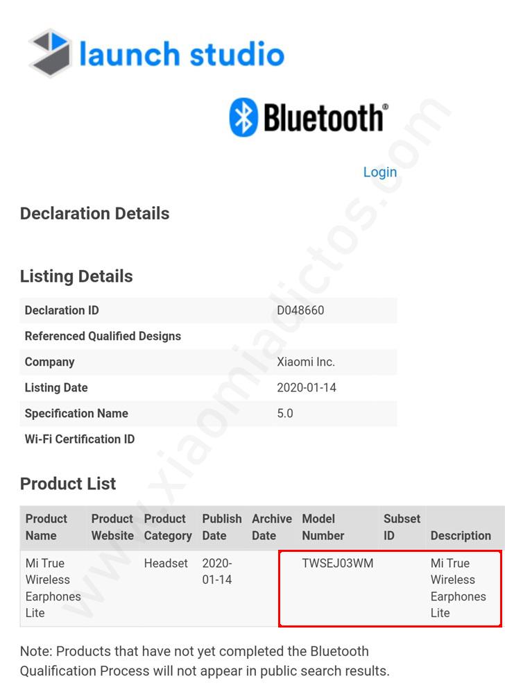 Xiaomi prepara unos nuevos Mi True Wireless Earphones Lite. Noticias Xiaomi Adictos