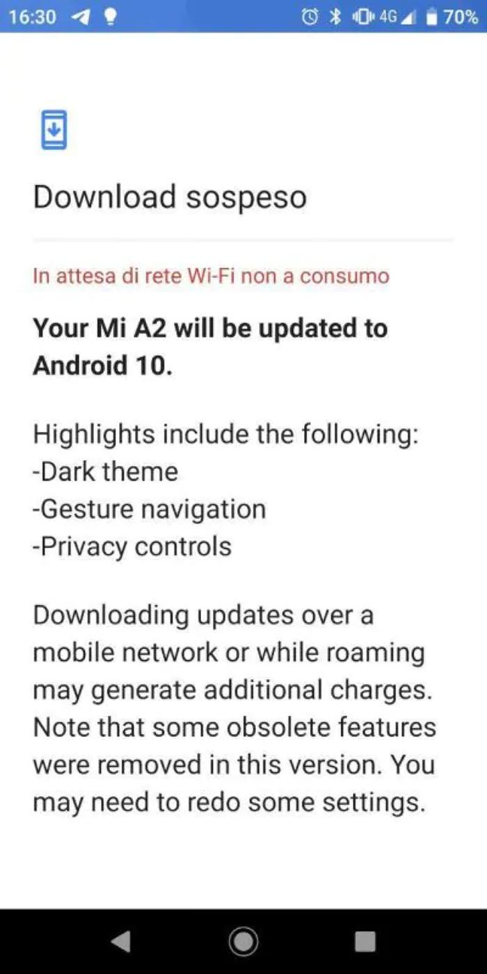 Xiaomi reanuda la actualización a Android 10 de su Xiaomi Mi A2. Noticias Xiaomi Adictos