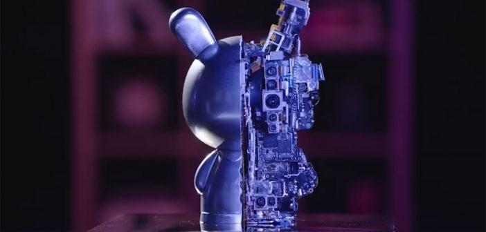 La famosa mascota de Xiaomi se viste con un llamativo diseño realizado con los componentes internos de sus smartphones. Noticias Xiaomi Adictos