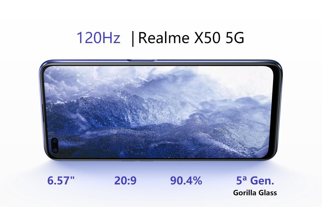 Nuevo Realme X50 5G, características, especificaciones y precio. Noticias Xiaomi Adictos