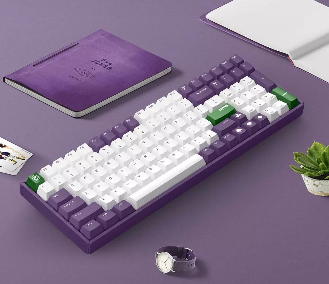 Nuevo teclado mecánico inspirado en Jocker de Xiaomi a la venta en Youpin. Noticias Xiaomi Adictos