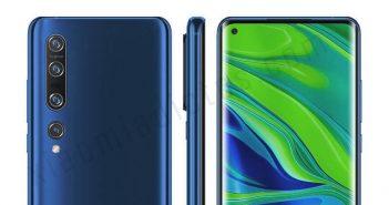 Posible diseño del Xiaomi Mi 10 y Mi 10 Pro. Noticias Xiaomi Adictos
