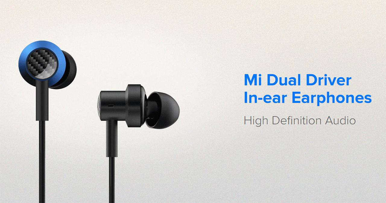 Nuevos Xiaomi Mi Dual Drivers In-ear Earphones, características, especificaciones y precio. Noticias Xiaomi Adictos