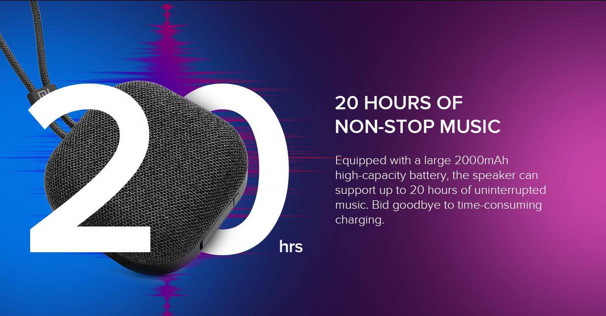Nuevo altavoz inalámbrico Xiaomi Mi Outdoor Bluetooth Speaker, caracter´siticas, especificaciones y precio. Noticias Xiaomi Adictos