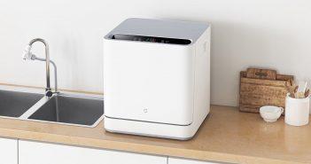 Nuevo Xiaomi Mijia Internet Dishwasher, un lavavajillas de sobremesa. Noticias Xiaomi Adictos