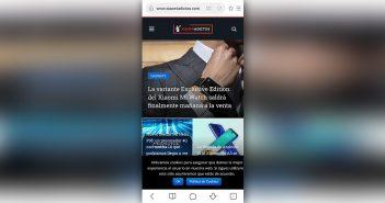 Xiaomi lanza una nueva versión mejorada de su navegador Mi Browser. Noticias Xiaomi Adictos