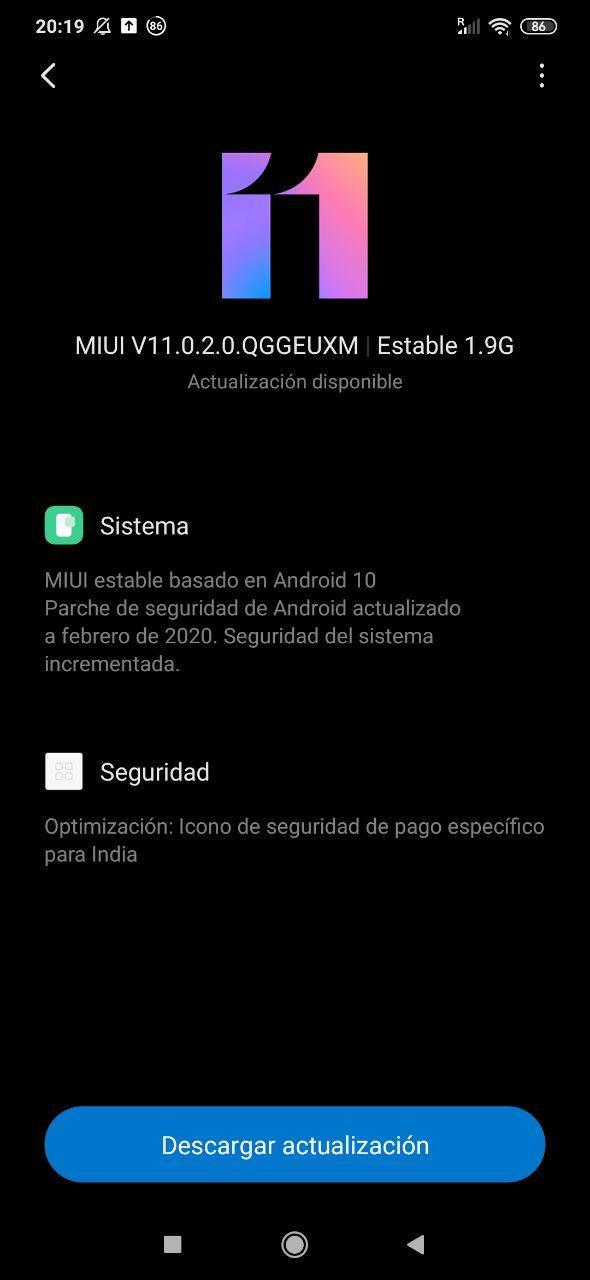 Redmi Note 8 Pro se actualiza finalmente a Android 10. Noticias Xiaomi Adictos