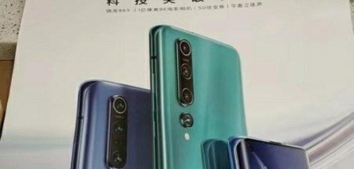 Se filtra el cartel publicitario del Xiaomi Mi 10 Pro. Noticias Xiaomi Adictos