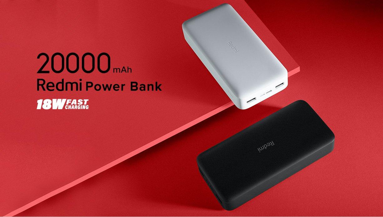 Nuevas Power Bank dde Redmi by Xiaomi. Noticias Xiaomi Adictos