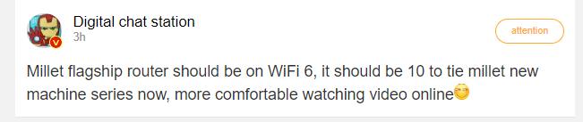 Xiaomi podría loanzar un nuevo Router con WiFi 6. Noticias Xiaomi Adictos