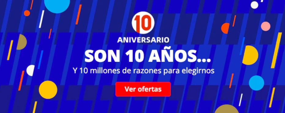 Consigue todos los cupones descuentos del 10 aniversario de AliExpress. Noticias Xiaomi Adictos