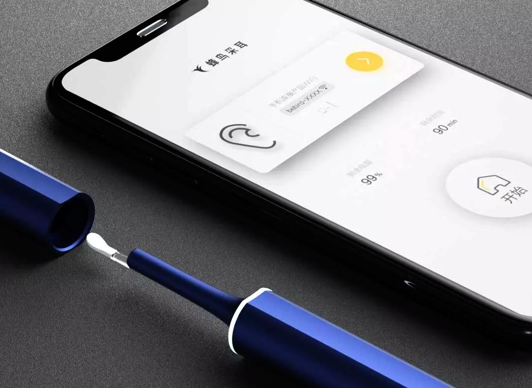 Nuevo limpiador de oídos con cámara endoscópica de Xiaomi en Youpin. Noticias Xiaomi Adictos