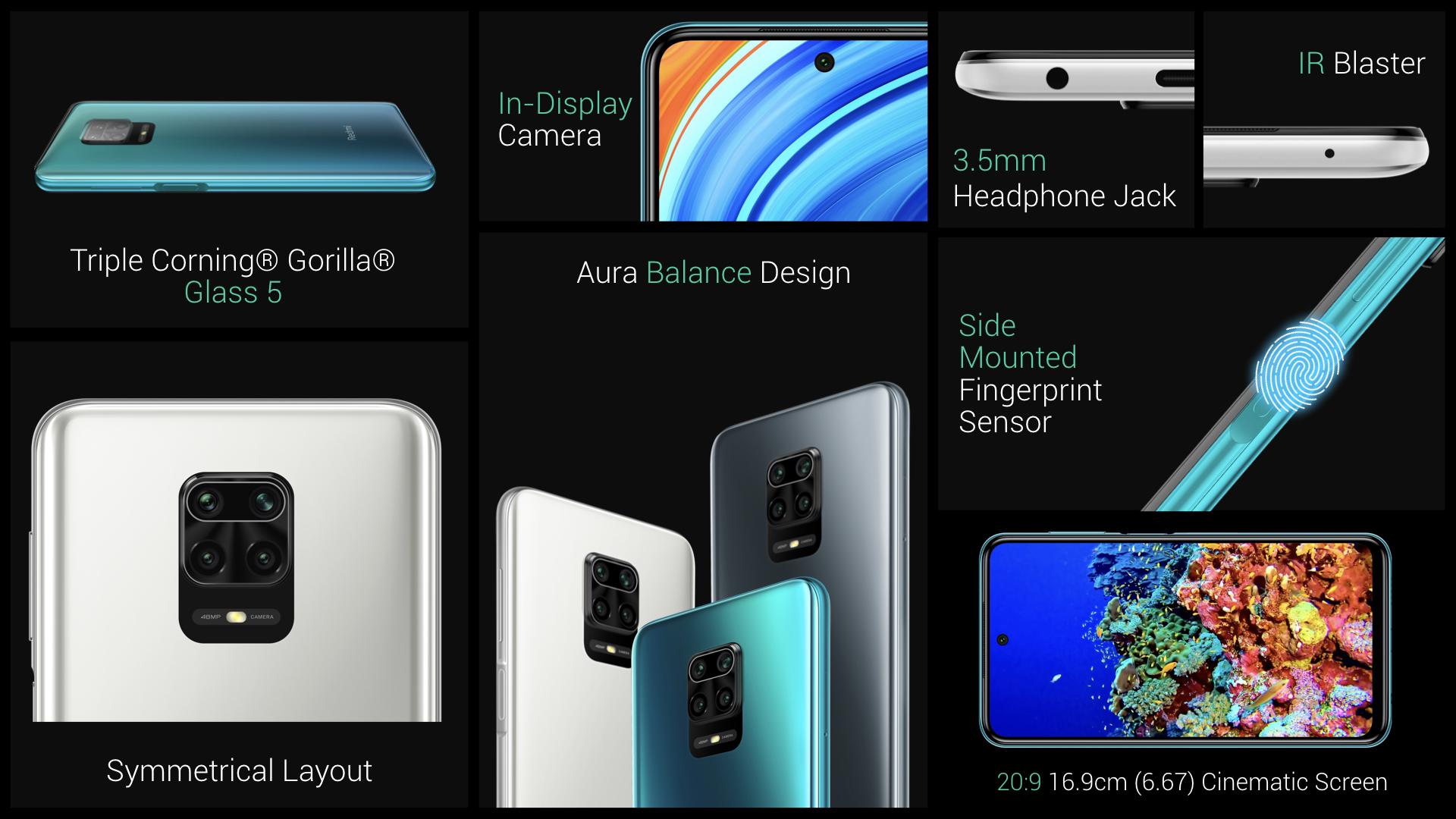 Nuevo Redmi Note 9 Pro y Note 9 Pro Max, características, especificaciones y precio. Noticias Xiaomi Adictos