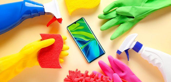 Cómo desinfectar neustro smartphone Xiaomi frente al coronavirus COVID-19. Noticias Xiaomi Adictos