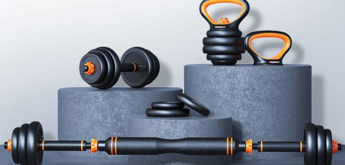 Xiaomi pone a la venta un interesante kit de pesas pensado para su uso en el hogar. Noticias Xiaomi Adictos