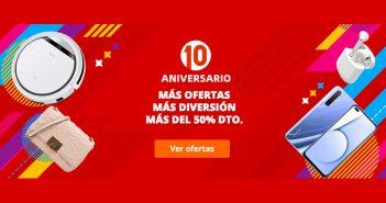 Mejores ofertas, descuentos y cupones descuento del 10º Aniversario de AliExpress. Noticias Xiaomi Adictos