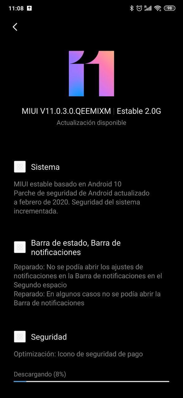Actualización a Android 10 para el Xiaomi Mi Mix 3 Global.  Noticias Xiaomi Adictos