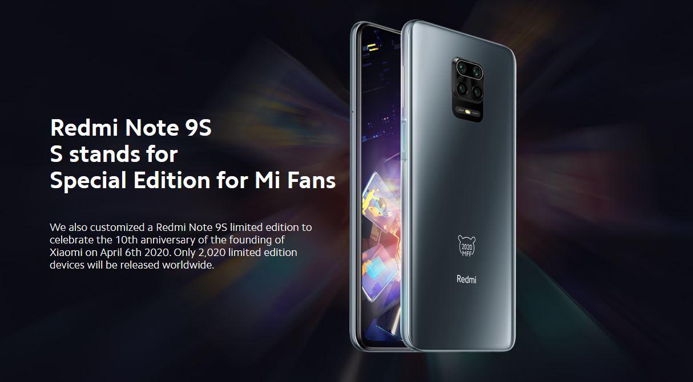 Redmi Note 9S Mi Fan Family: la versión especial del Redmi Note 9S que todos querrán tener. Noticias Xiaomi Adictos