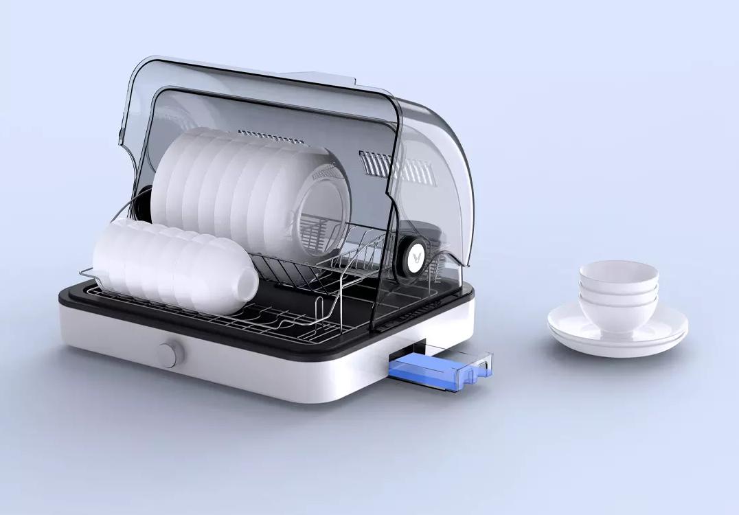 Xiaomi pone a la venta un práctico escurridor de vajilla que además incluye un sistema de esterilización y secado por calor. Noticias Xiaomi Adictos