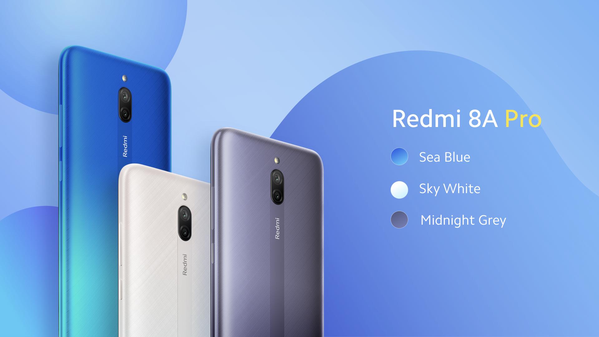 Nuevo Redmi 8A Pro: un Redmi 8A Dual renombrado que probablemente no saldrá de Indonesia