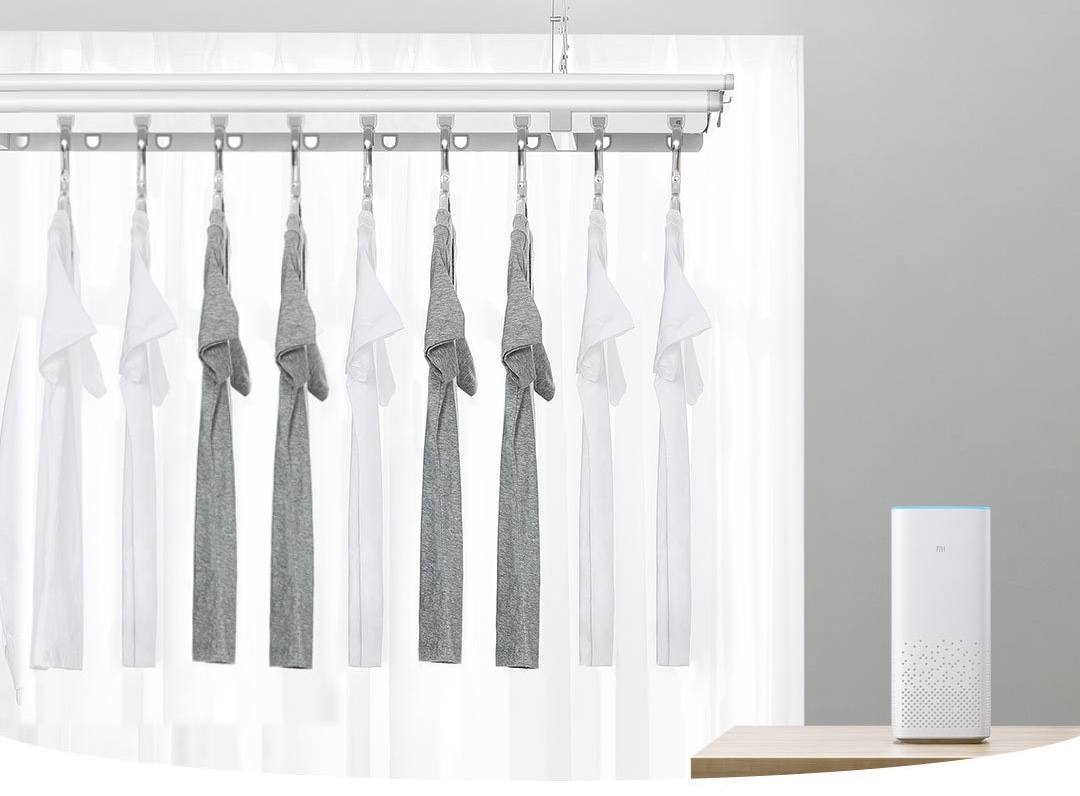 Nuevo Xiaomi Mijia Smart Clothes Dryer, un tendedero retráctil automatizado. Noticias Xiaomi Adictos