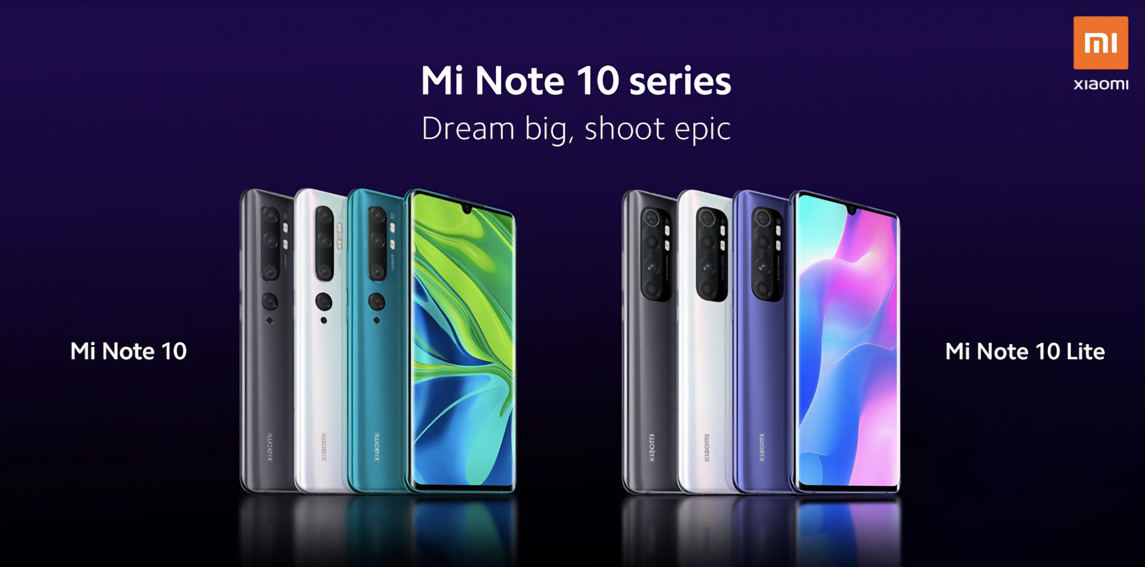 Xiaomi nos muestra oficialmente su nuevo Mi Note 10 Lite que será presentado mañana 30 de abril. Noticias Xiaomi Adictos