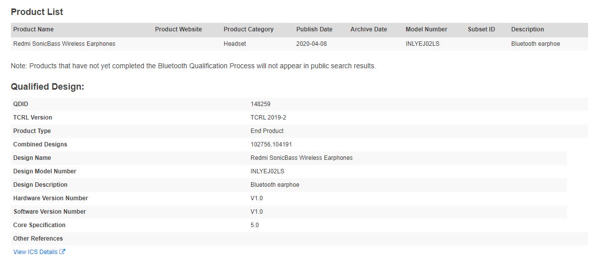Redmi prepares its new Redmi SonicBass Wireless Earphones. Xiaomi  News