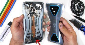 Así es el curioso interior del Black Shark 3 Pro y sus dos gatillos mecánicos. Noticias Xiaomi Adictos