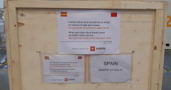 Xiaomi realiza una nueva donación de mascarillas al Ministerio de Sanidad y de Interior de España