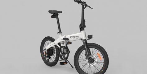 Xiaomi pone a la venta la HIMO Z20, una bicicleta plegable con hasta 80Km de autonomía