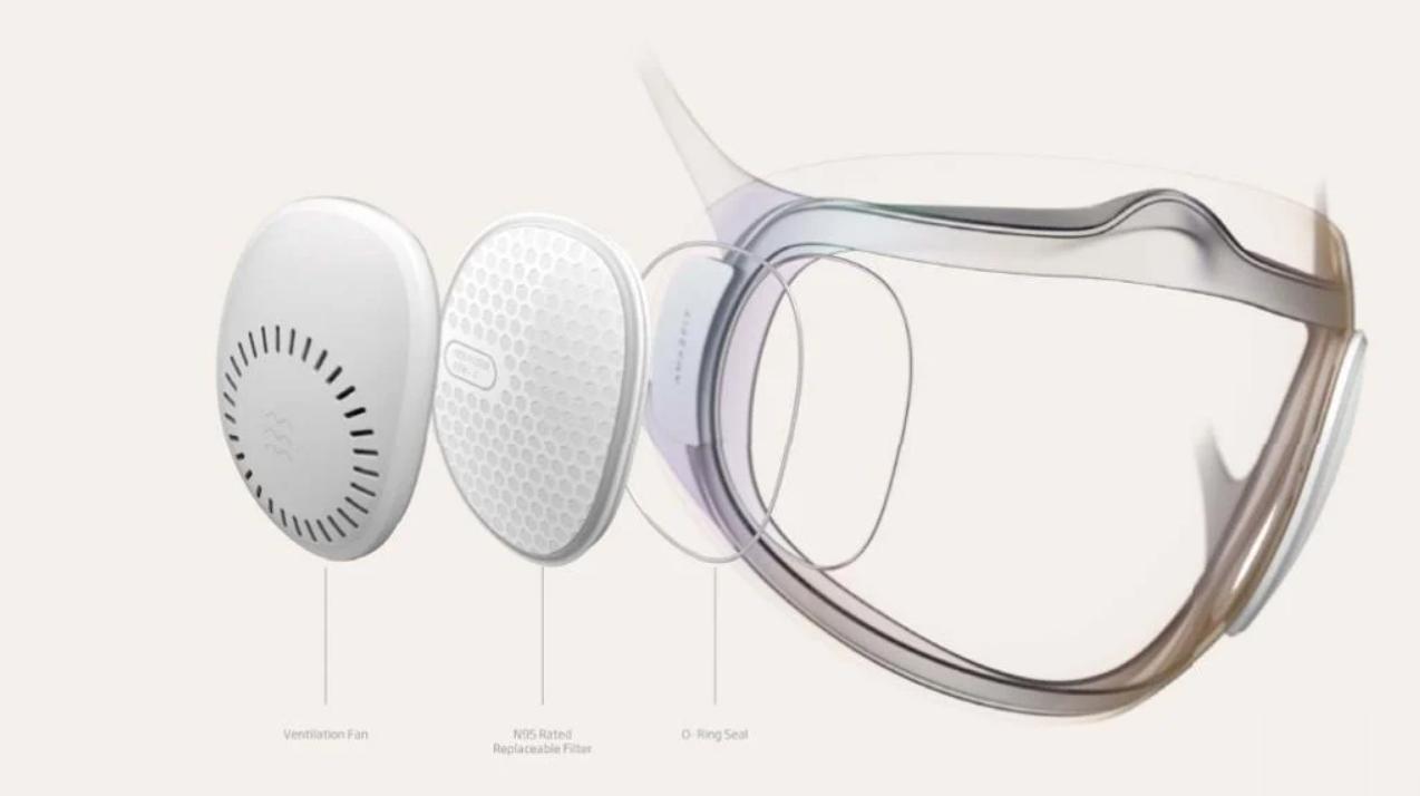 Amazfit dessarrolla una nueva mascarilla que nos permite usar el reconocimiento facial de nuestro smartphone. Noticias Xiaomi Adictos