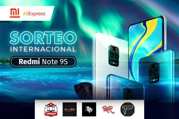 Consigue un fantástico Redmi Note 9S totalmente gratis. Sorteo Internacional