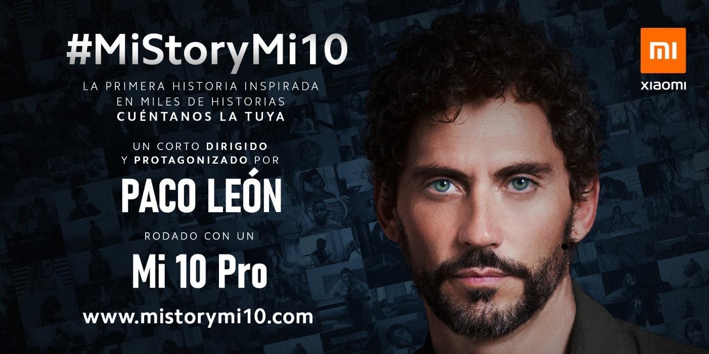 Paco León rodará desde un Xiaomi Mi 10 Pro un cortometraje inspirado en el confinamiento. Noticias Xiaomi Adictos