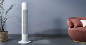 Xiaomi Mijia DC Tower Fan, características, especificaciones, precio. Noticias Xiaomi Adictos