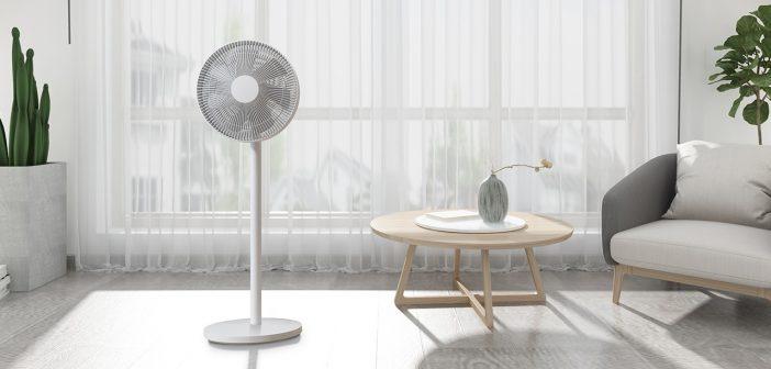 Nuevo Xiaomi Mi Smart Standing Fan 1C un ventilador inteligente. Noticias Xiaomi Adictos