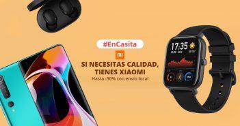 AliExpress celebra el #EnCasita con cientos de productos Xiaomi en oferta y con envío rápido desde España