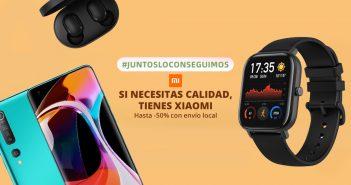 AliExpress celebra el #JuntosLoConseguimos con cientos de productos Xiaomi y otras marcas en oferta y envío rápido desde España