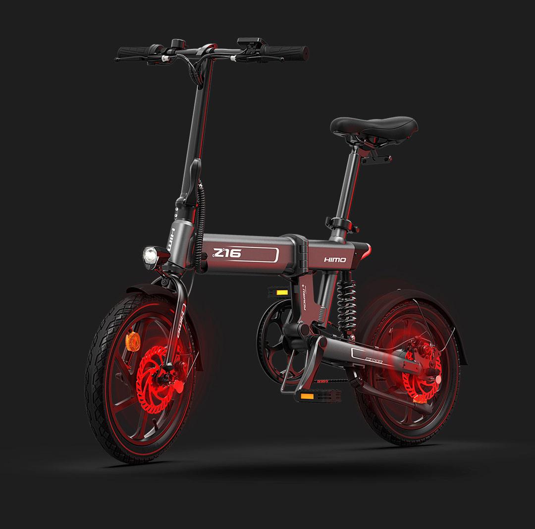 Xiaomi pone a la venta la económica HIMO Z16, una bicicleta plegable con autonomía de hasta 80Km. Noticias Xiaomi Adictos