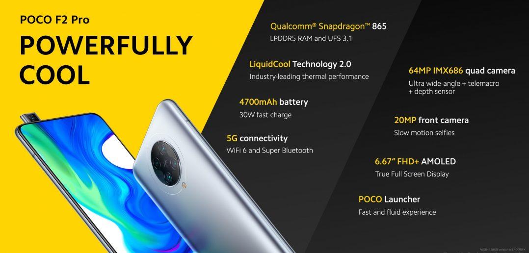 POCO F2 Pro España características, especificaciones y precio. Noticias Xiaomi Adictos